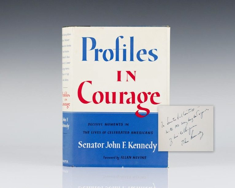 First Edition of Profiles in Courage by John F. Kennedy