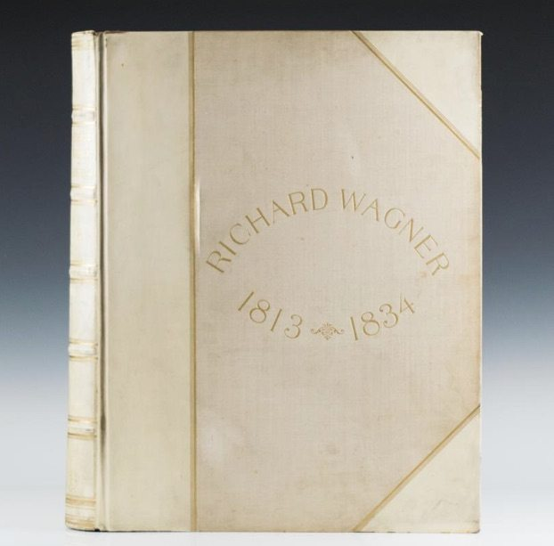 Richard Wagner first edition vellum bindings