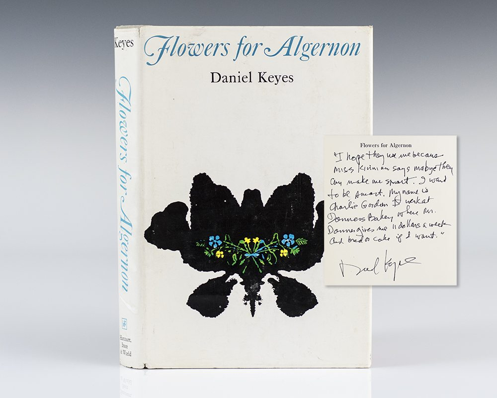 daniel keyes story flowers for algernon The short story, flowers for algernon by daniel keyes is a part of contemporary american literature that is read and studied in middle and high schools around the.