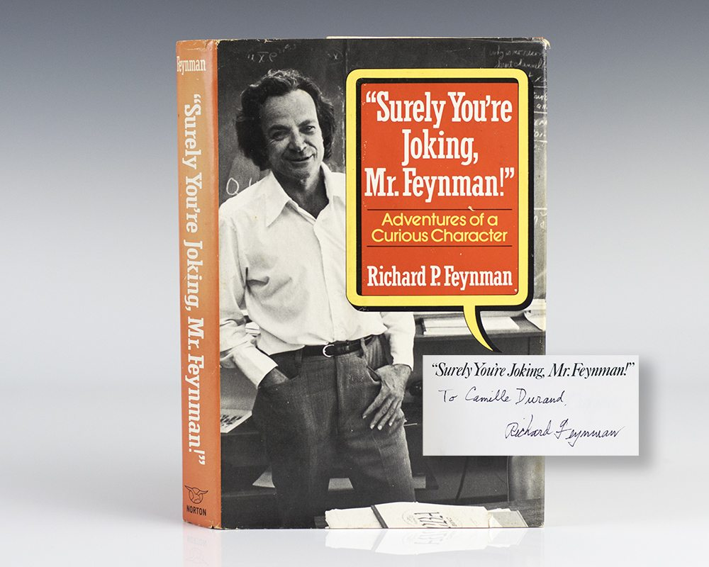 Surely You're Joking Mr. Feynman First Edition Signed