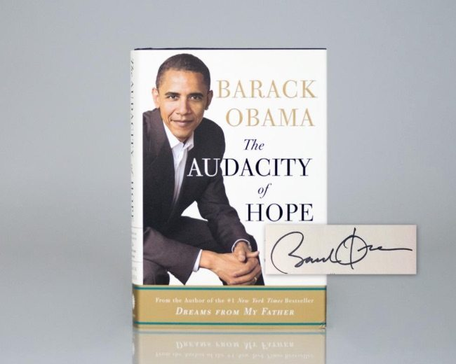 President Barack Obama First Edition Books