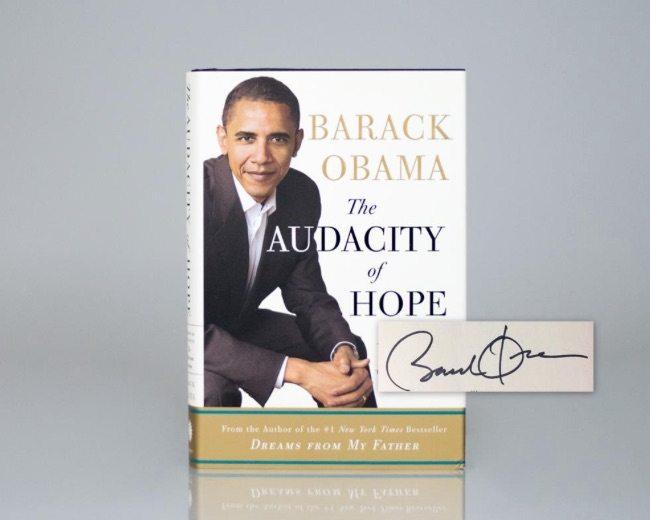 President Barack Obama First Edition Books