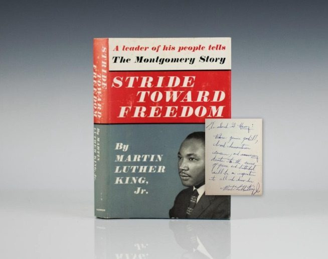 Martin Luther King Jr. First Edition Books