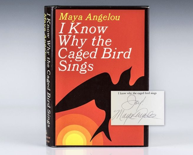 Maya Angelou First Edition Rare Book