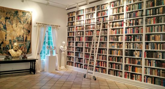 Books Galore in the Raptis Gallery