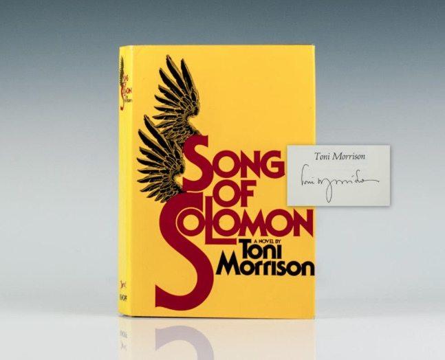 Toni Morrison First Edition Rare Books