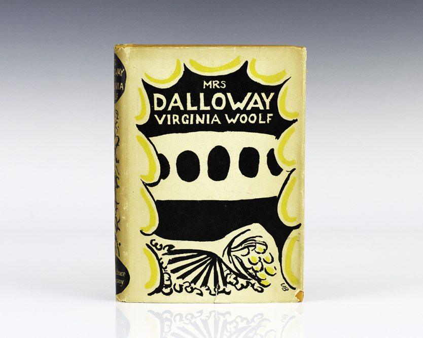 first edition of Mrs. Dalloway by Virginia Woolf