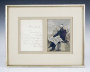 Ulysses S. Grant Signed Letter.