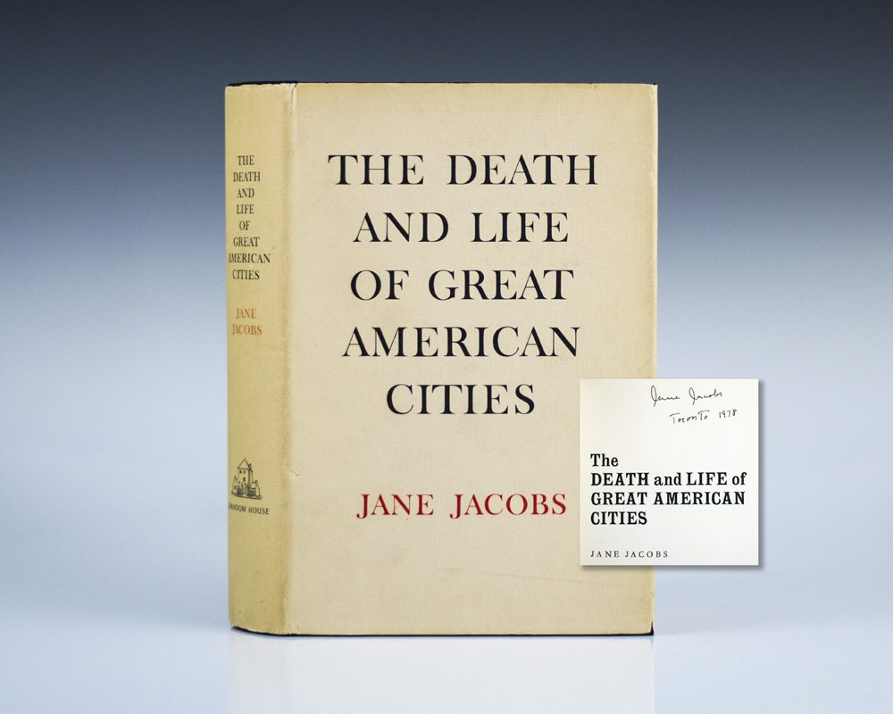 Life and Death of Great American Cities Jane Jacobs First Edition ...
