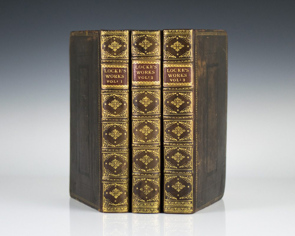 the works of john locke first edition two treatises the works of john locke