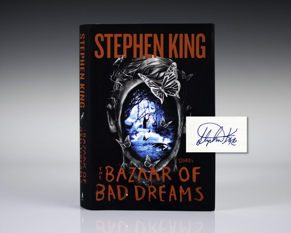 the bazaar of bad dreams stephen king first edition signed