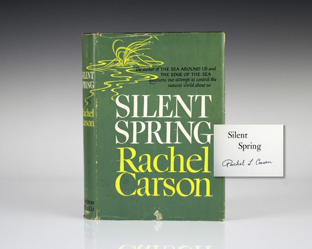 a research on rachel louise carson and her book silent spring