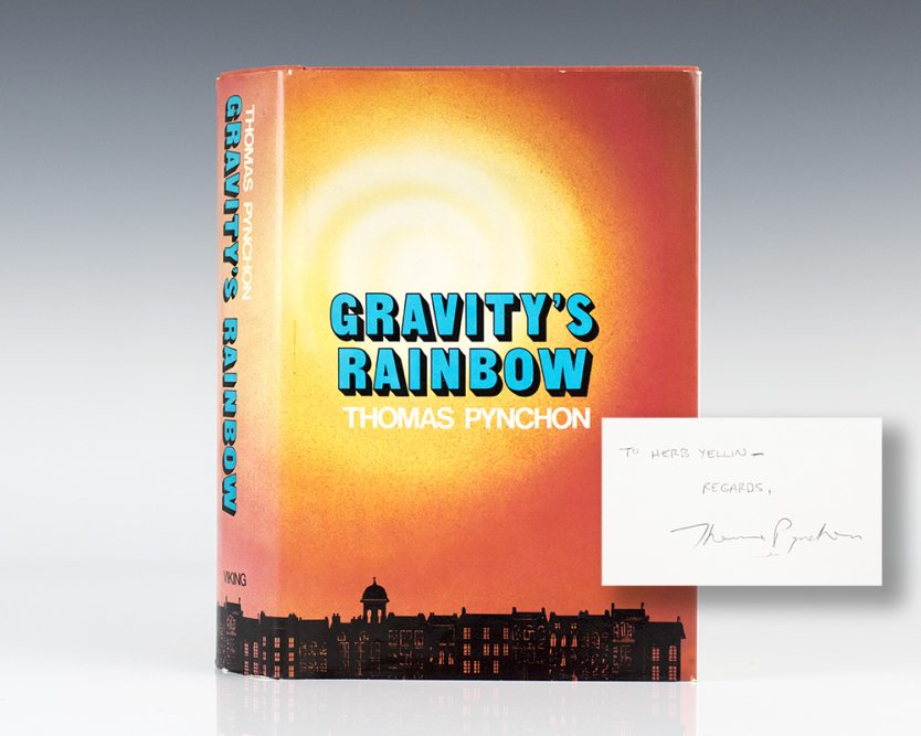 Gravity's Rainbow First Edition by Thomas Pynchon