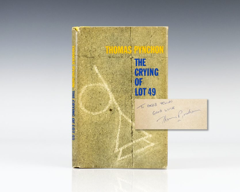 Rare First Edition of The Crying of Lot 49 by Thomas Pynchon