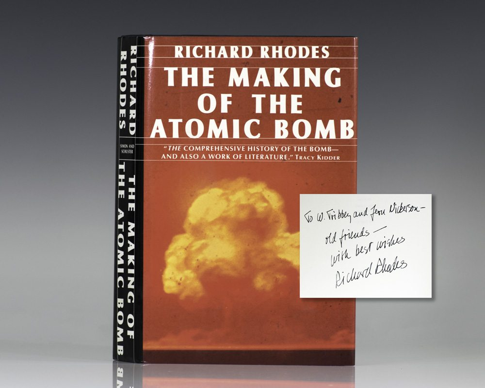 the discovery of the atomic bomb I used to have a recording of this from my local discovery channel asia but it kinda got lost 1/2 way through moving between computers so i probably won't find it again i suppose.