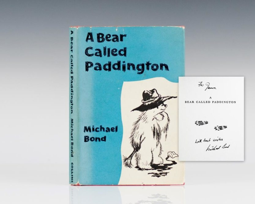 a-bear-called-paddington-signed-first-edition-michael-bond