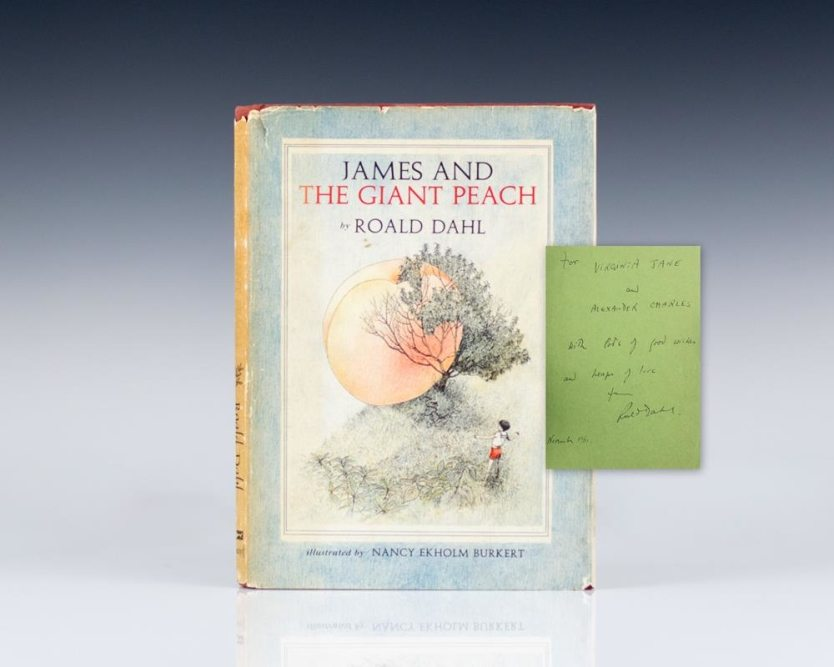james-and-the-giant-peach-roald-dahl-first-edition-signed-1961