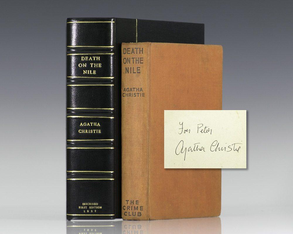Agatha christie first edition abebooks.
