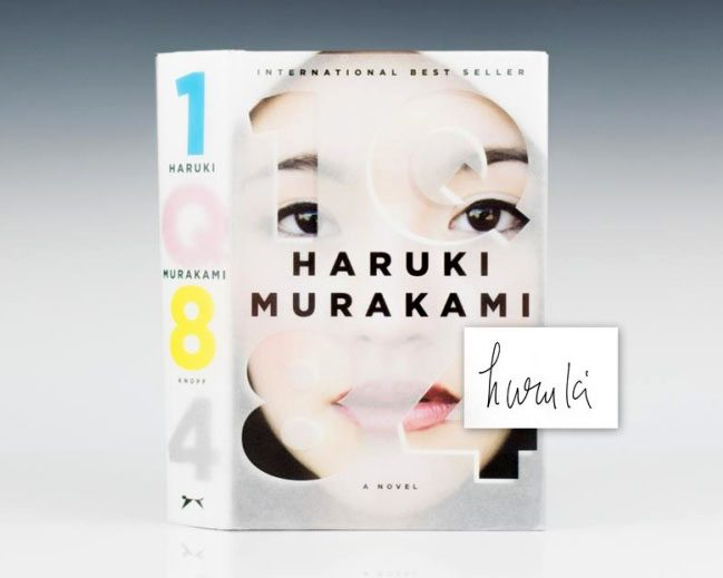 1q84-haruki-murakami-first-edition-signed