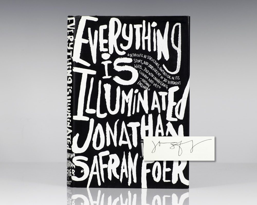 everything is illuminated questions Everything is illuminated-jonathan safran foer introduction – the consequences of the grandparents' silence many people have to bear heavy psychological burdens from the second world war without talking to anybody about their experiences.