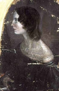 Portrait of Emily Bronte, painted by Branwell Bronte