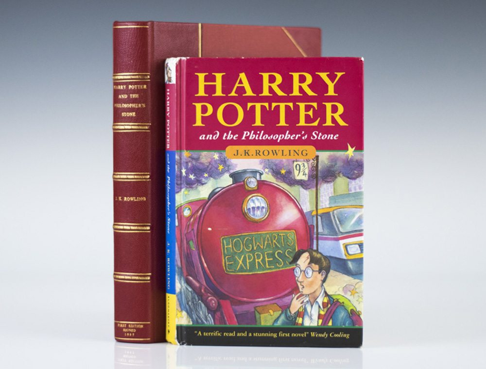 Harry Potter And The Philosophers Stone Jk Rowling First Edition