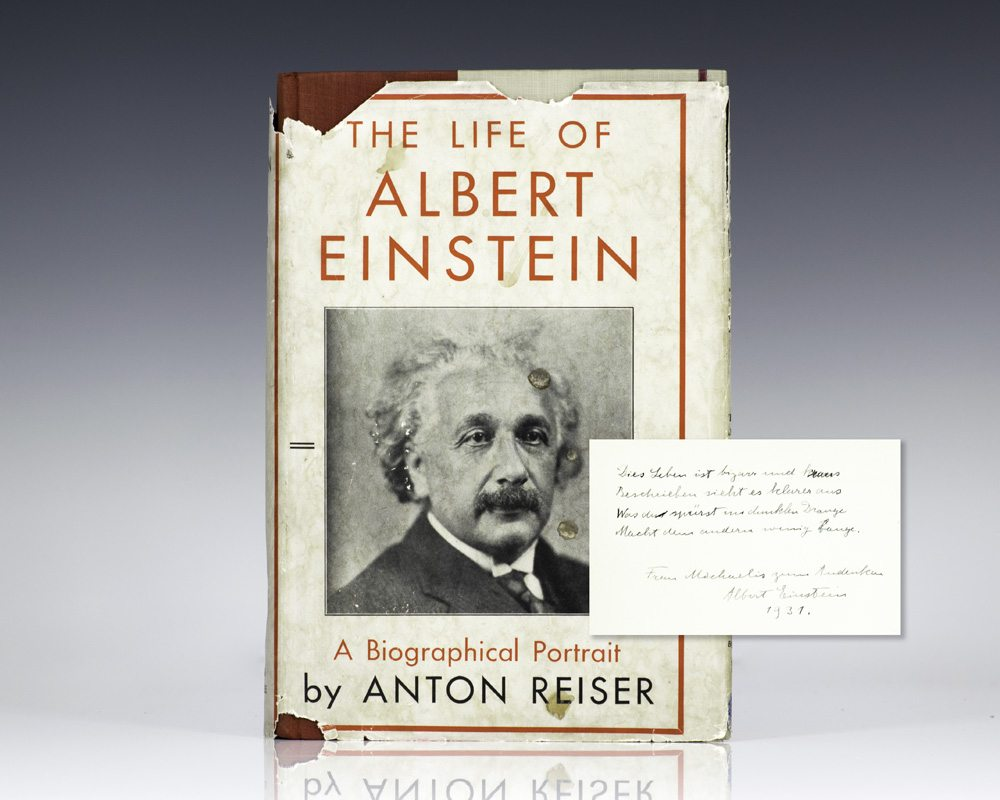 a biography of albert einstein and his work Albert einstein was born in ulm  and einstein later handed over a small fortune upon receiving the award in 1922 for his work on the the life picture.