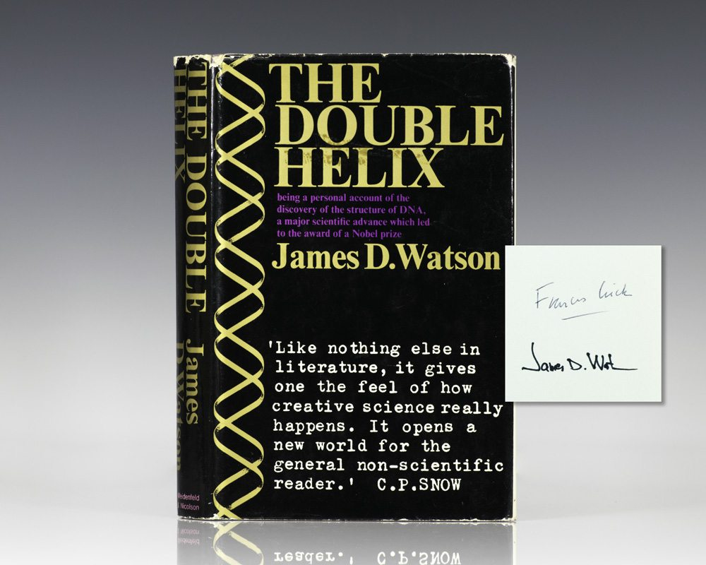 james watson s the double helix a Genes, girls, and gamow after the double helix by watson, james d and a great selection of similar used, new and collectible books available now at abebookscom.