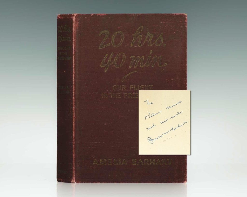 amelia-earheart-first-edition