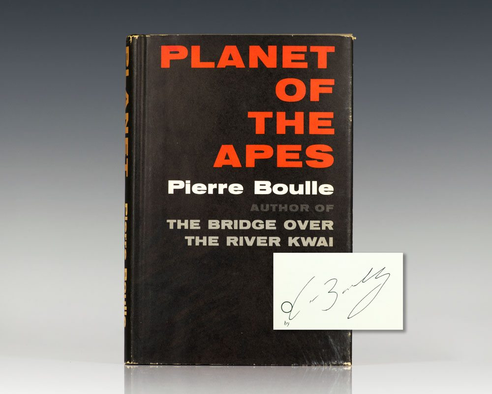 """planet of the apes by pierre boulle Pierre boulle reviews """" in 1963, at the most glacial moment of the cold war, frenchman pierre boulle wrote a novel called planet of the apes - a drastic warning about where mankind's apparent desire to destroy itself might lead ."""