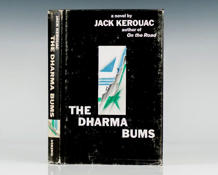 First Edition of Jack Kerouac's The Dharma Bums