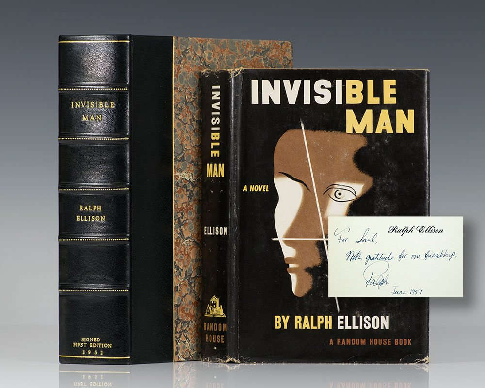 First Edition of Invisible Man; Inscribed by Ralph Ellison