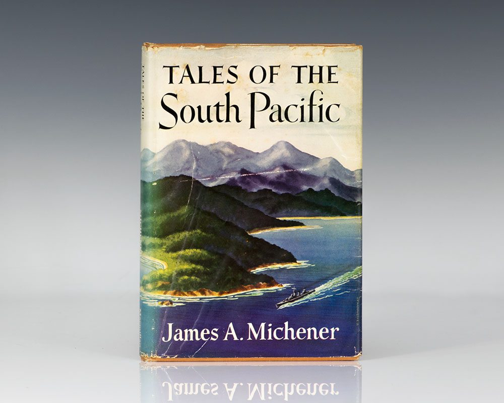 Tales Of The South Pacific James Michener First Edition - Tales of the south pacific