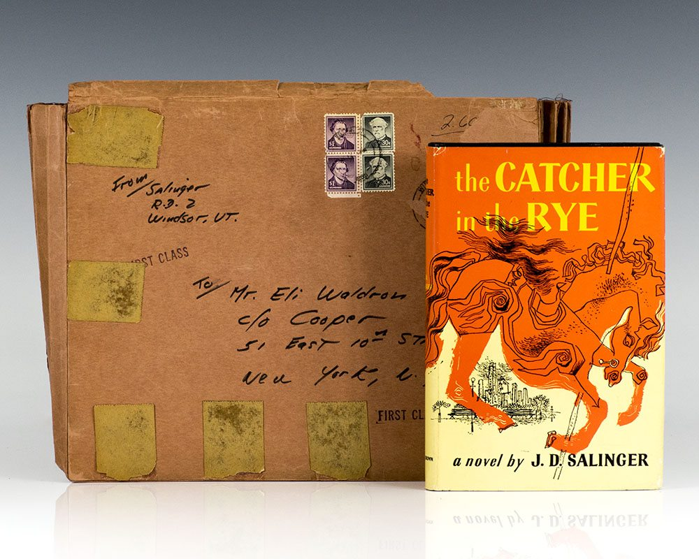 Essays In Science The Catcher In The Rye Essay On Business Management also A Thesis For An Essay Should The Catcher In The Rye Jd Salinger First Edition Signed How To Write A Essay Proposal