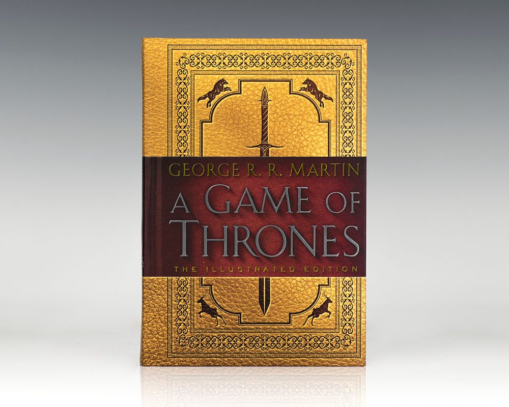 A Game of Thrones  The Illustrated Edition: Book One of A Song of Ice and  Fire