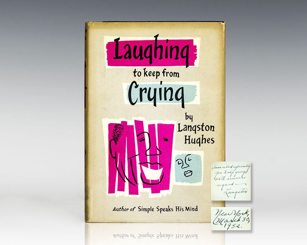 First Edition of Laughing To Keep From Crying; Inscribed by Langston Hughes