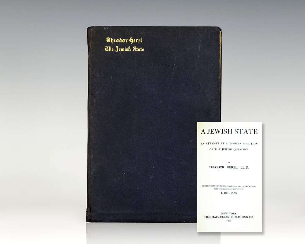 The-Jewish-State-first-edition