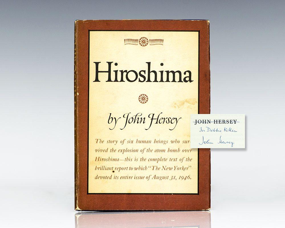 expository text hiroshima john hersey