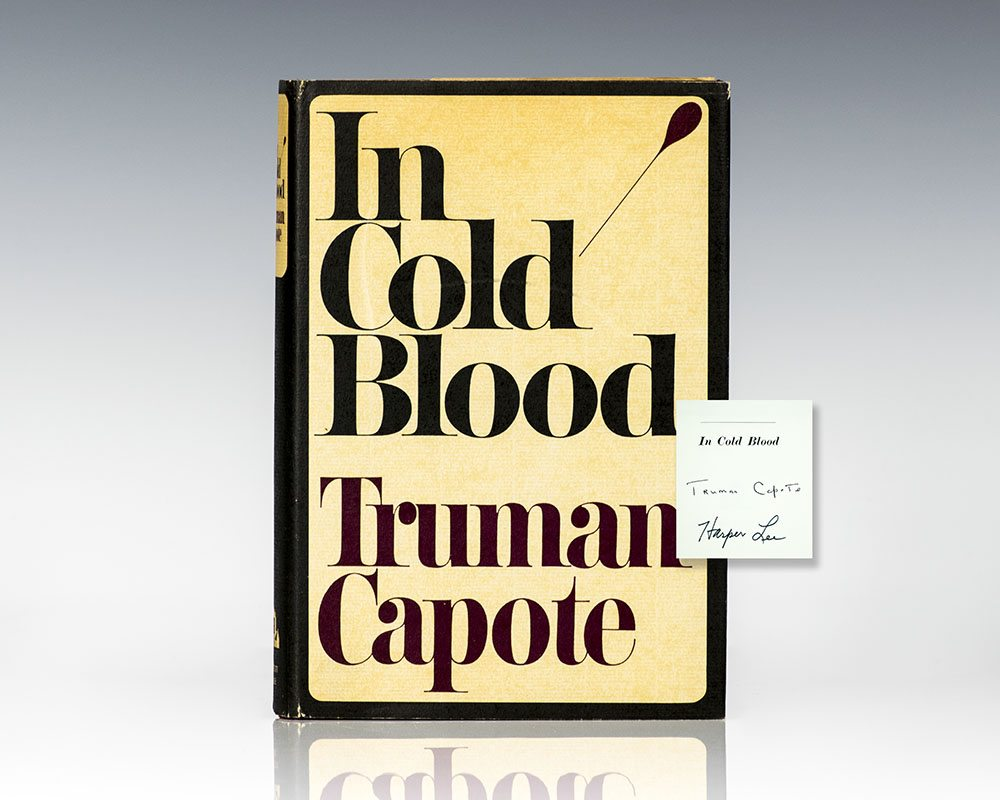 an analysis of the novel in cold blood by truman capote Name: course: tutor: date: literary analysis of truman capote in cold blood in cold blood is a non-fiction story, revealing the real events following the killing of the clutter family.