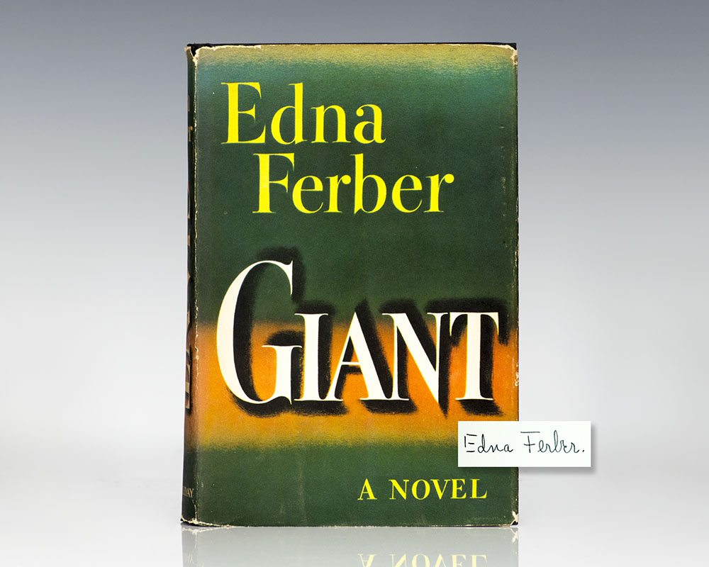 Giant Edna Ferber First Edition Signed