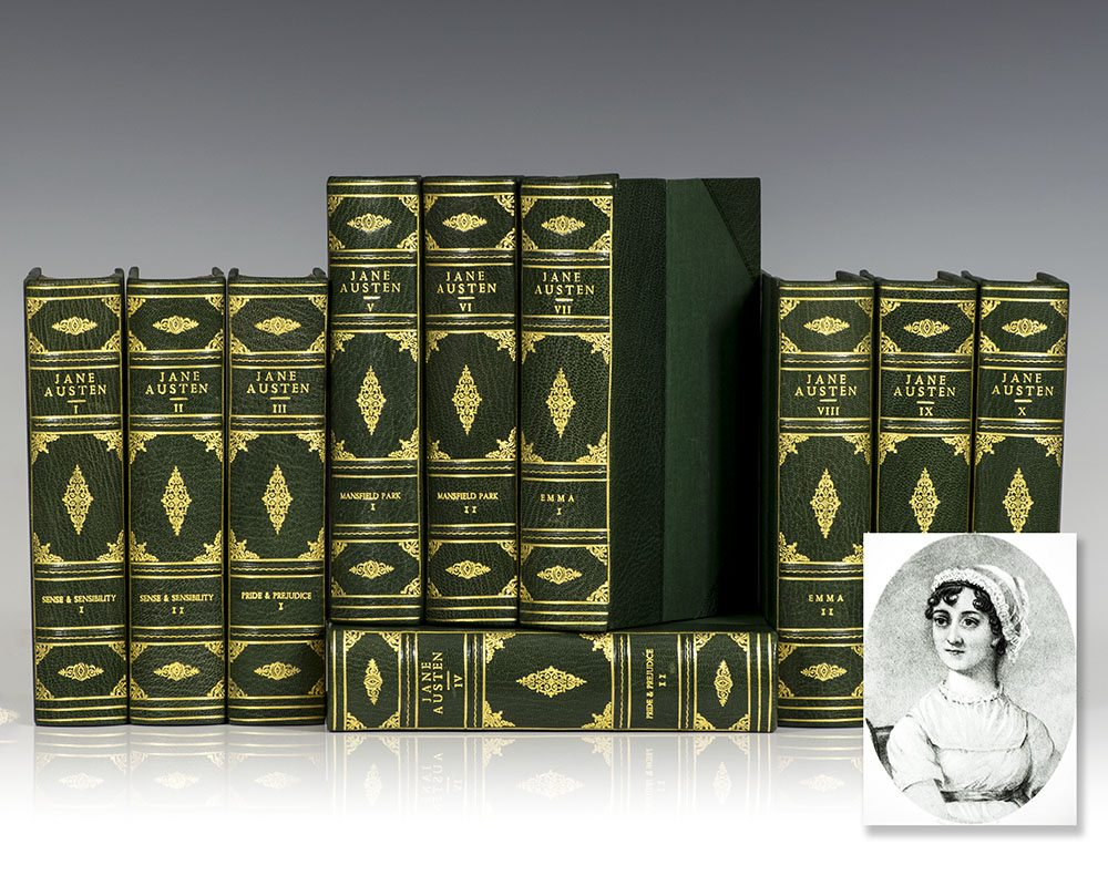 The Works Of Jane Austen (Pride And Prejudice, Sense And Sensibility,  Northanger Abbey ...