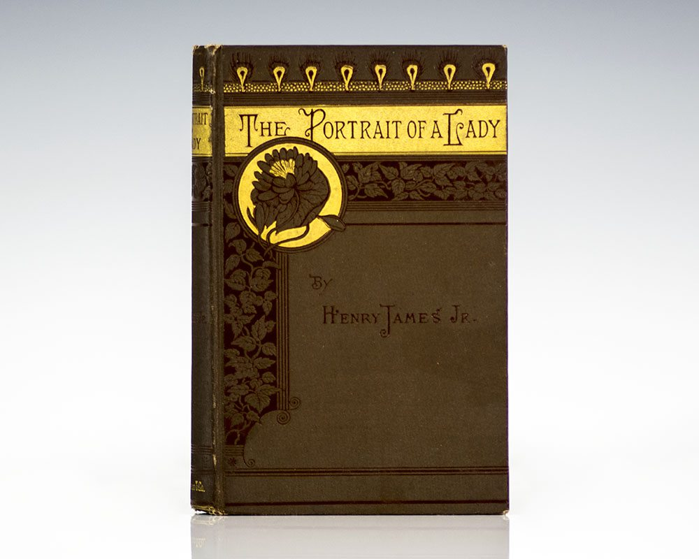 First Edition of Henry James', The Portrait of a Lady