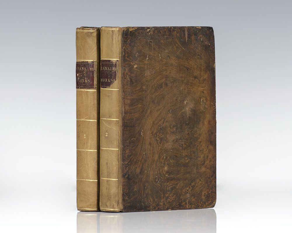 The Rare Third Edition of the Works of the Late Doctor Benjamin Franklin