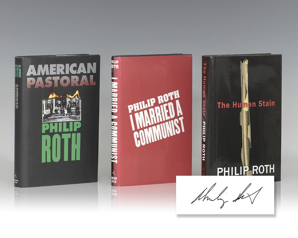 The American Trilogy: American Pastoral; I Married A Communist and The  Human Stain.