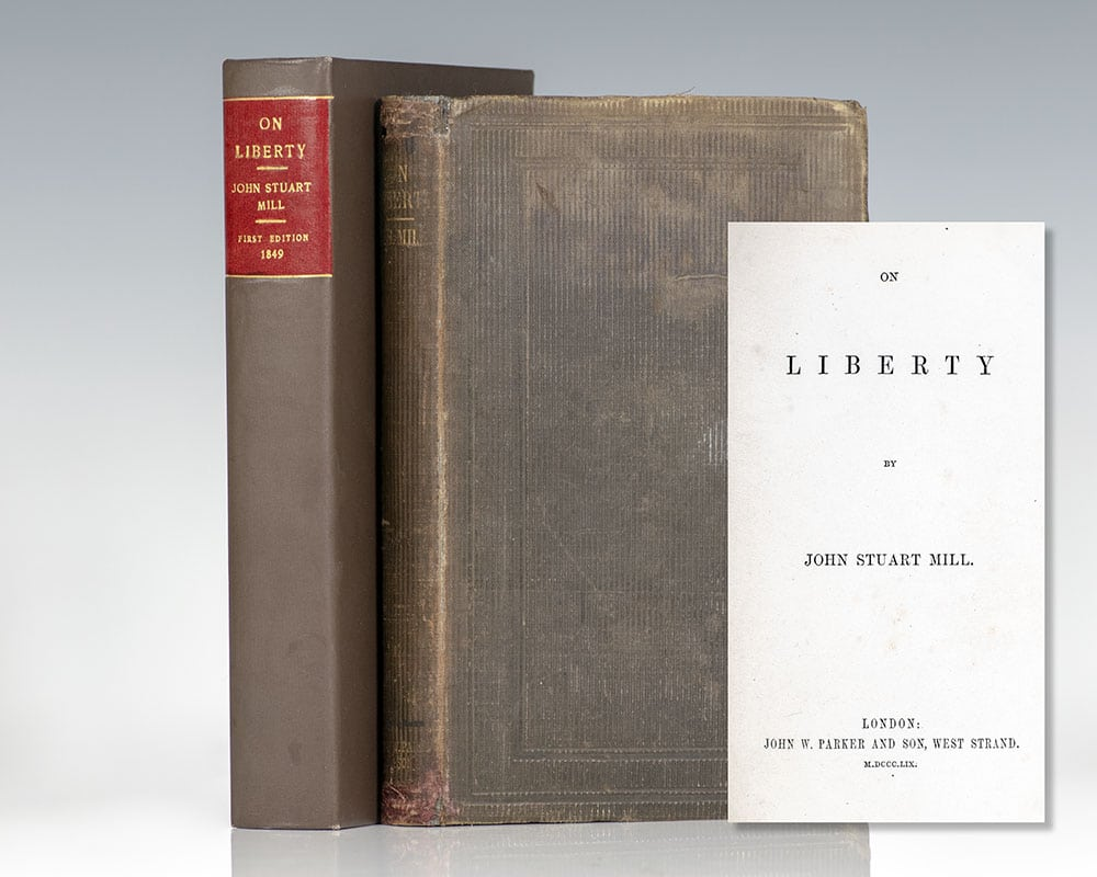 On Liberty John Stuart Mill First Edition