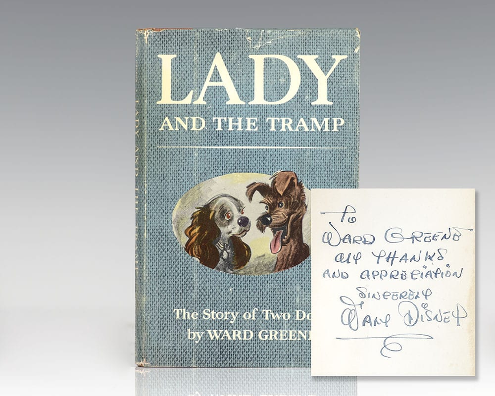 First edition of Lady and the Tramp