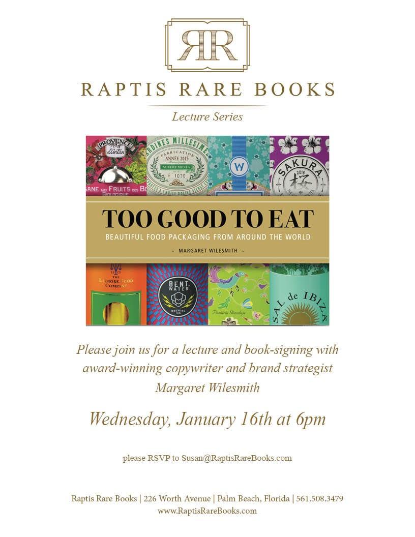 Raptis Rare Books Margaret Wilesmith