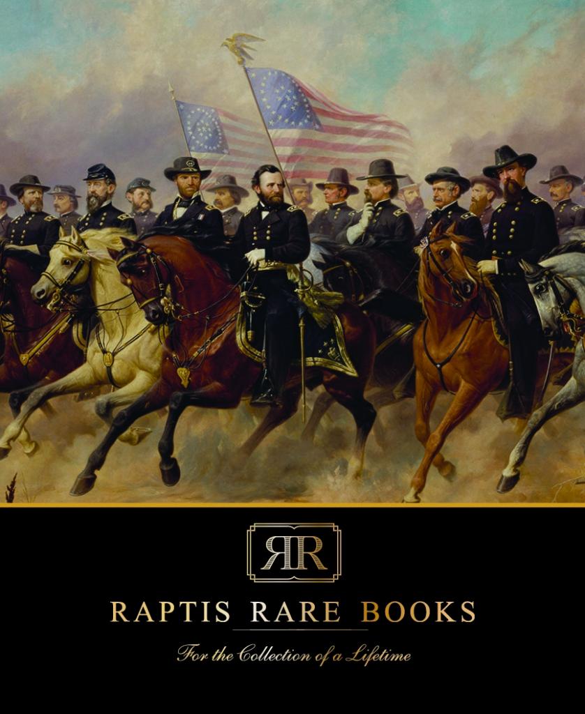 Raptis Rare Books Fall 2019 Catalog