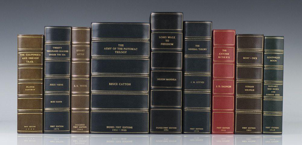 raptis rare books leather