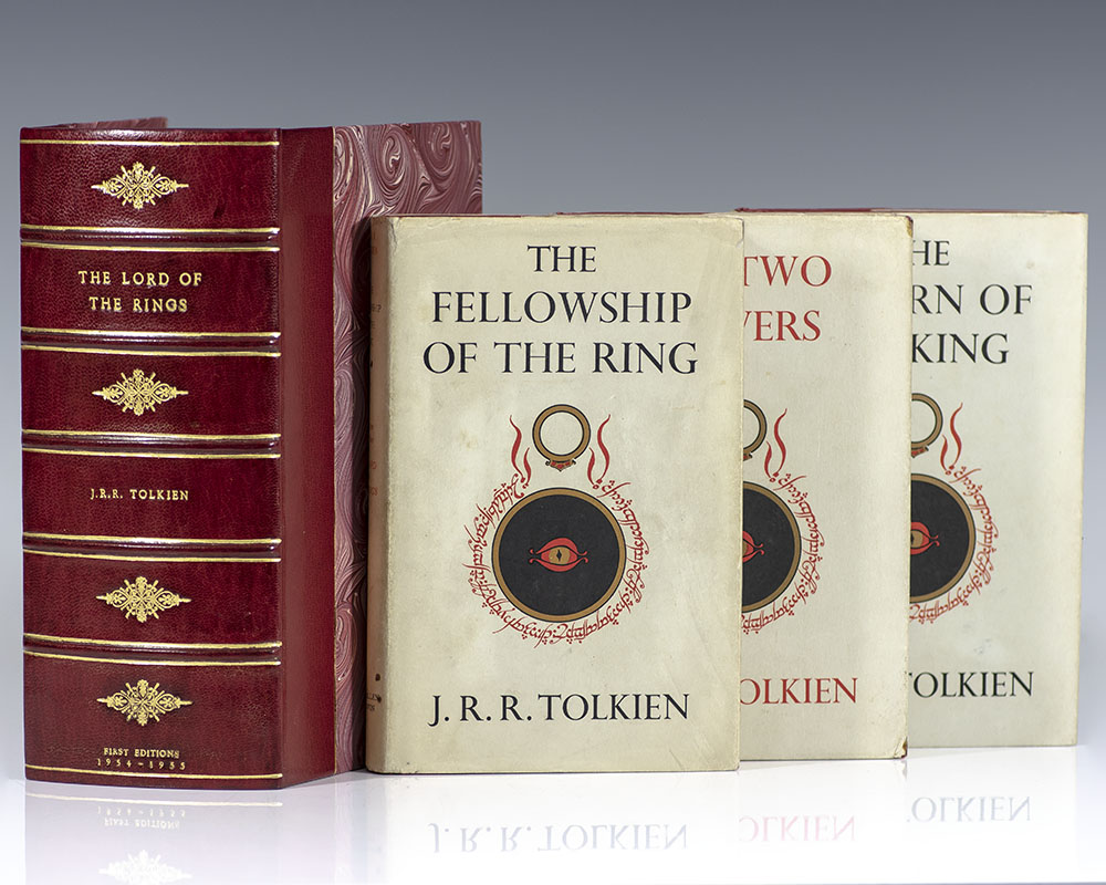 The Lord Of The Rings J.R.R. Tolkien First Editions